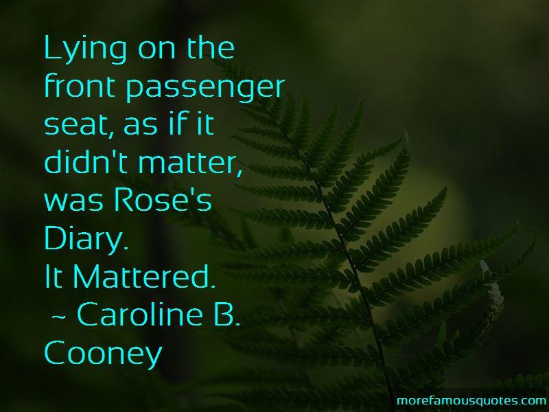 Caroline B. Cooney Quotes