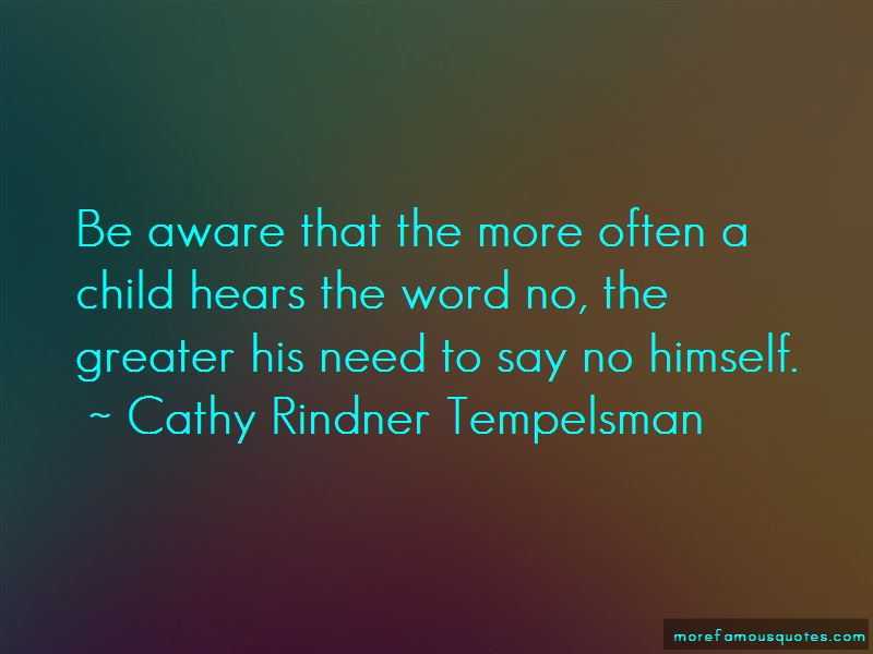 Cathy Rindner Tempelsman Quotes