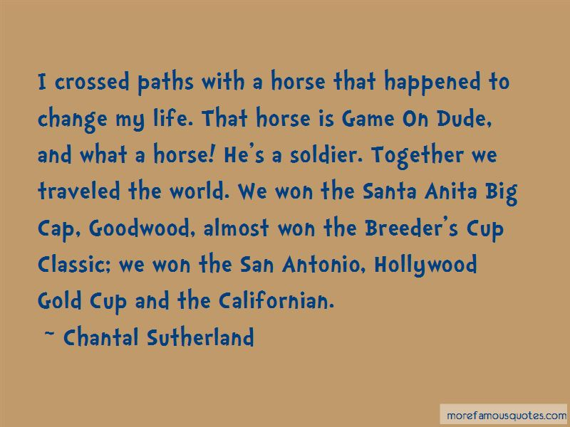 Chantal Sutherland Quotes Pictures 2