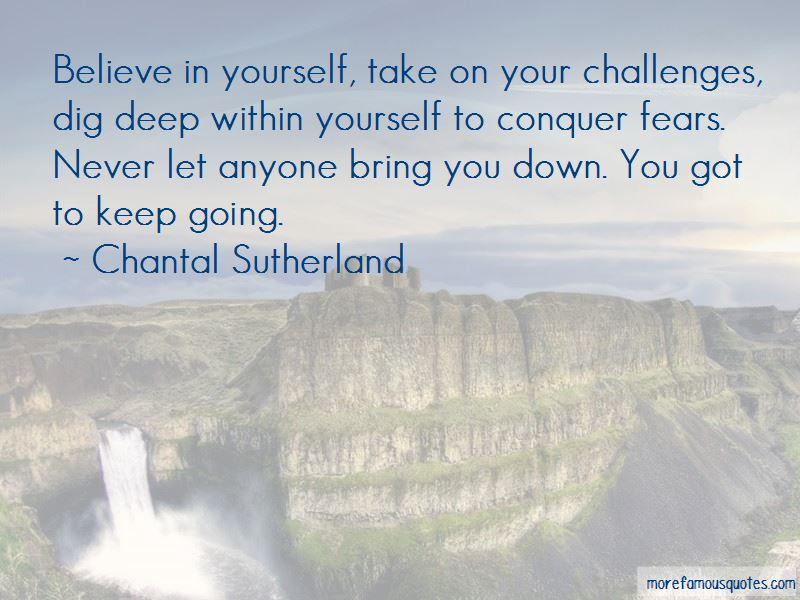 Chantal Sutherland Quotes Pictures 3