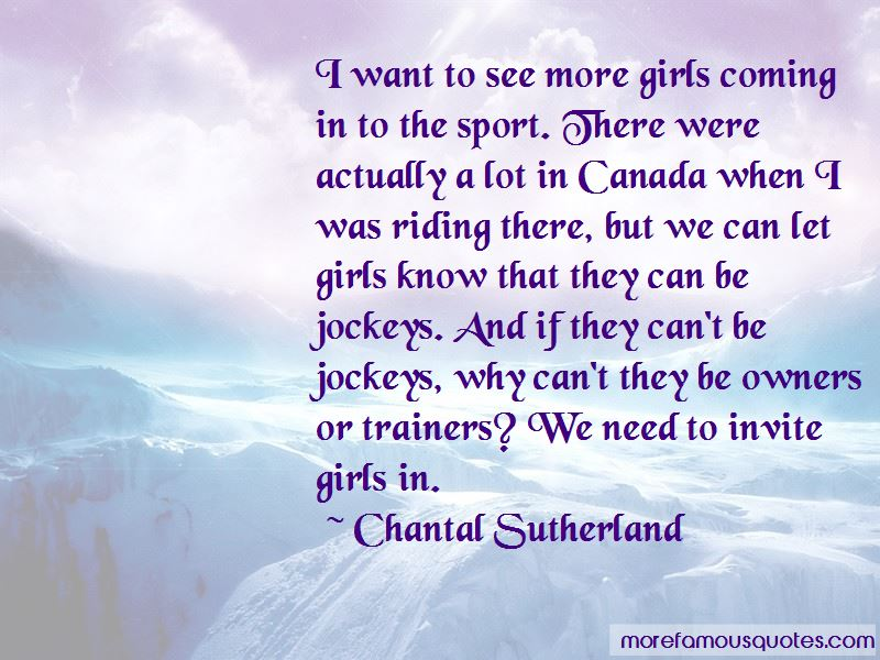 Chantal Sutherland Quotes Pictures 4