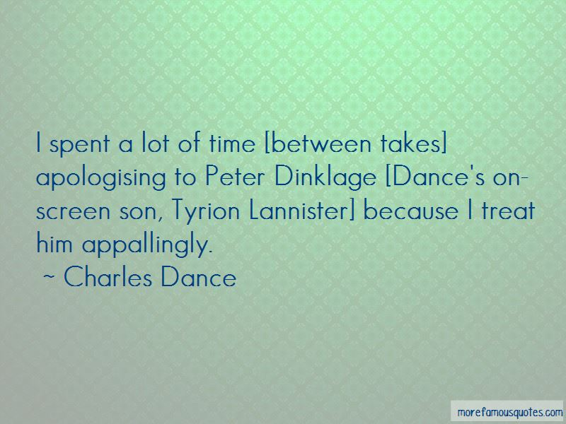 Charles Dance Quotes Pictures 4