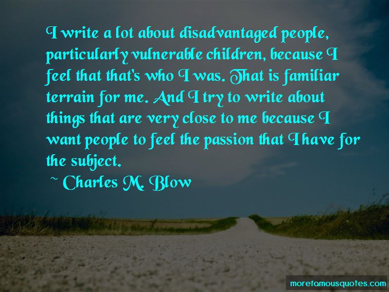 Charles M. Blow Quotes Pictures 4