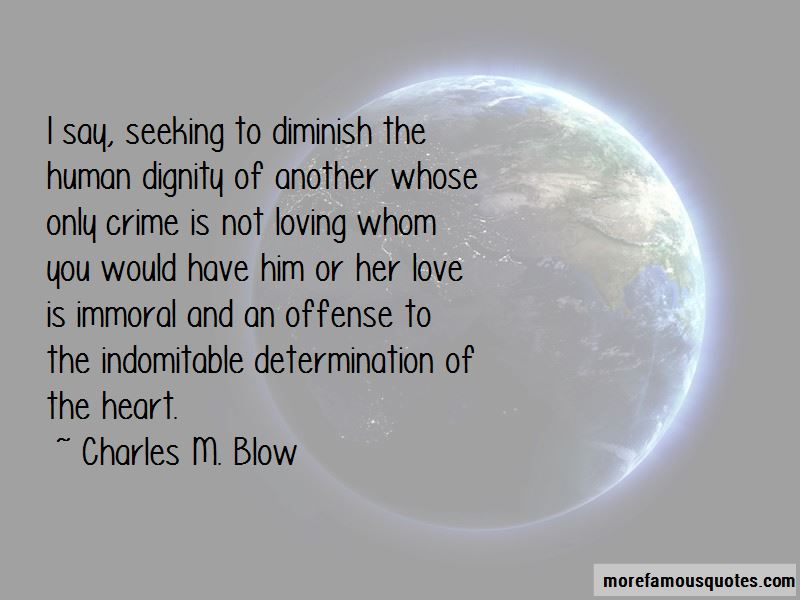 Charles M. Blow Quotes