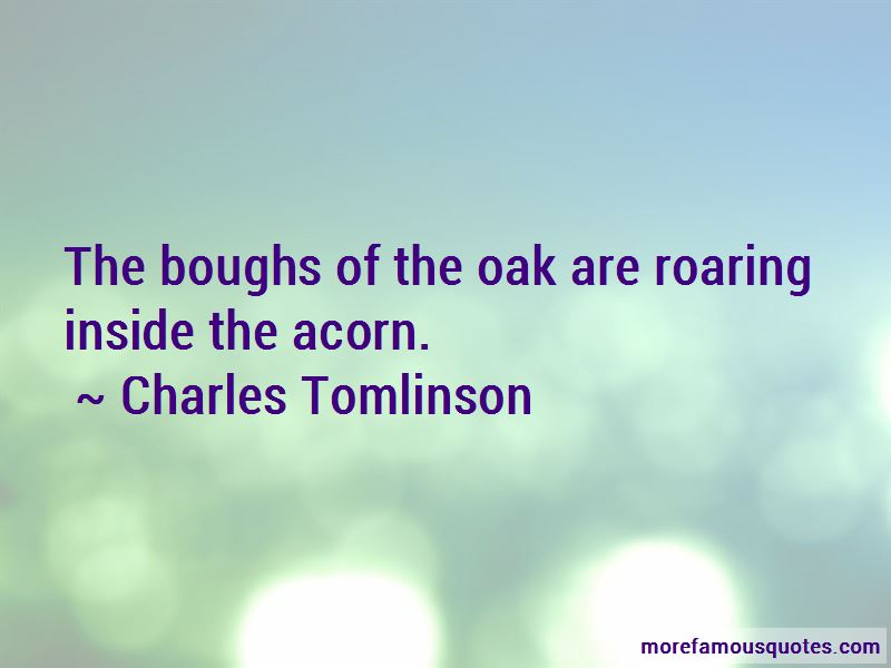 Charles Tomlinson Quotes Pictures 2