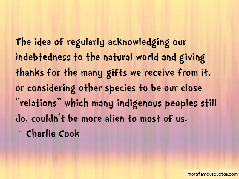 Charlie Cook Quotes Pictures 2