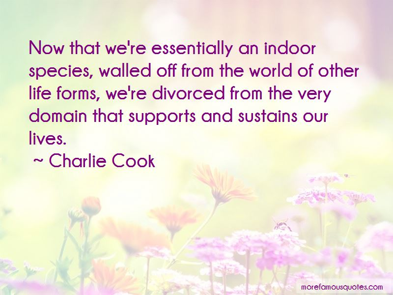 Charlie Cook Quotes