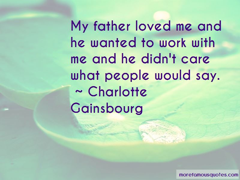 Charlotte Gainsbourg Quotes Pictures 2