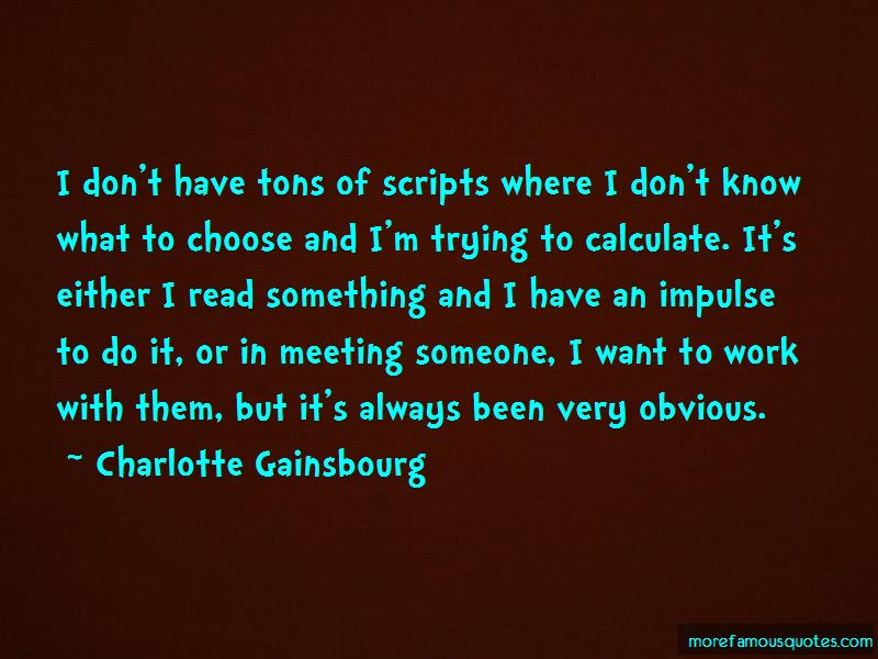 Charlotte Gainsbourg Quotes Pictures 3