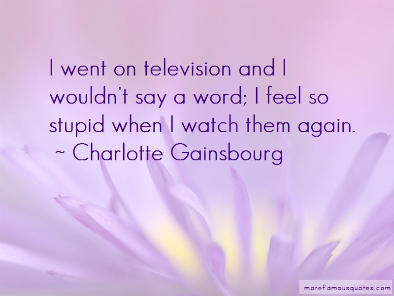 Charlotte Gainsbourg Quotes Pictures 4