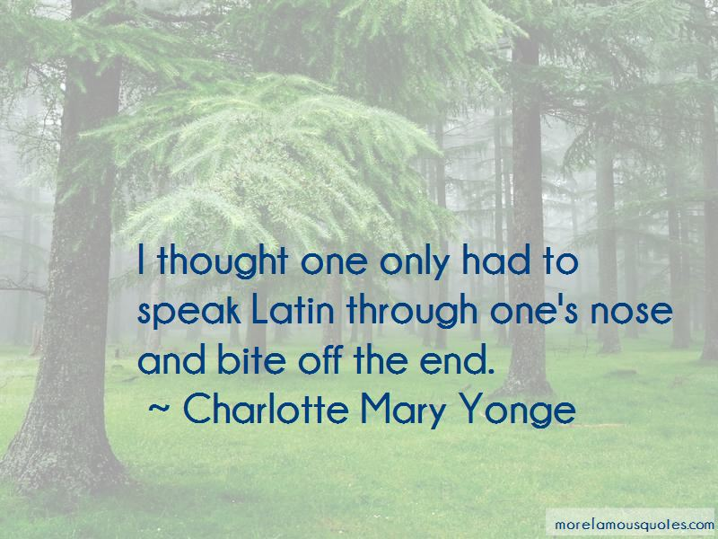 Charlotte Mary Yonge Quotes Pictures 4