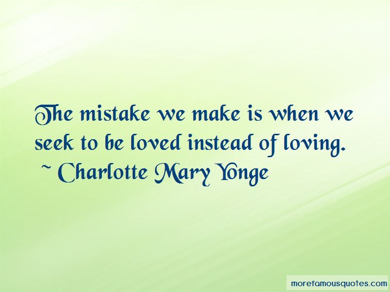 Charlotte Mary Yonge Quotes