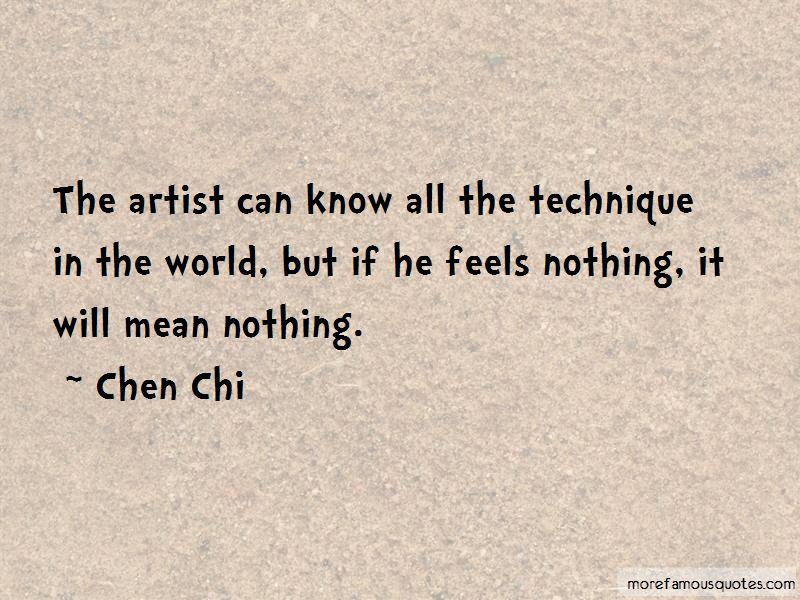 Chen Chi Quotes