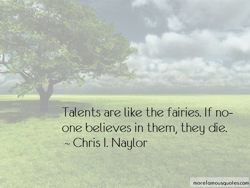Chris I. Naylor Quotes Pictures 3