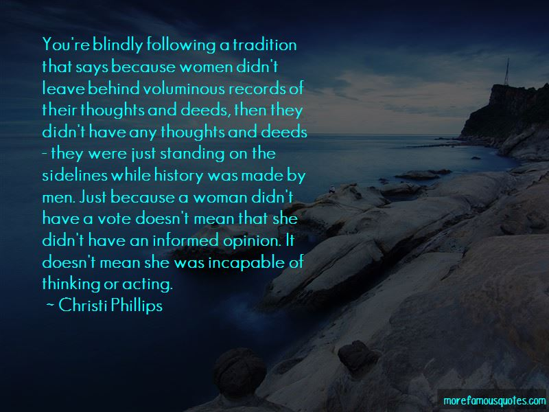 Christi Phillips Quotes Pictures 3