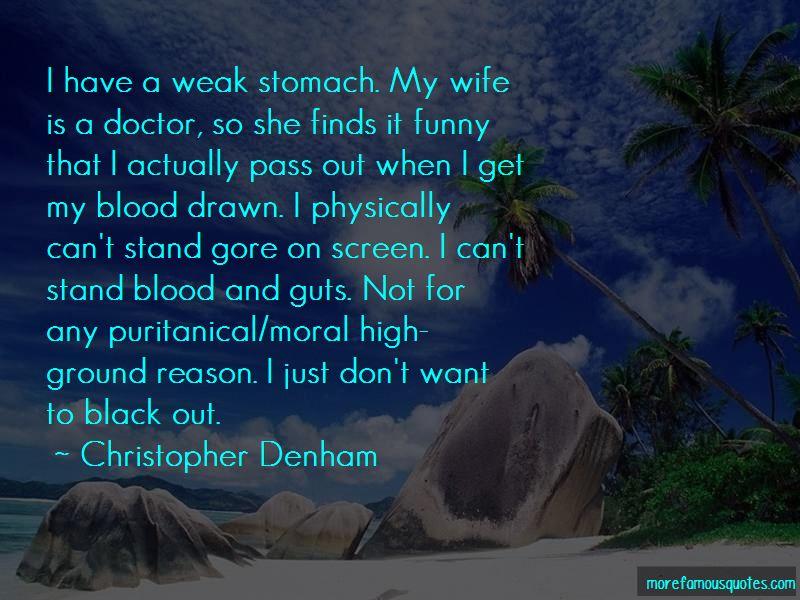 Christopher Denham Quotes Pictures 2