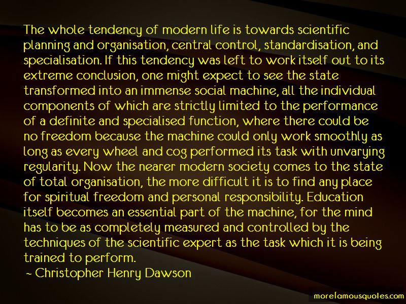 Christopher Henry Dawson Quotes Pictures 2