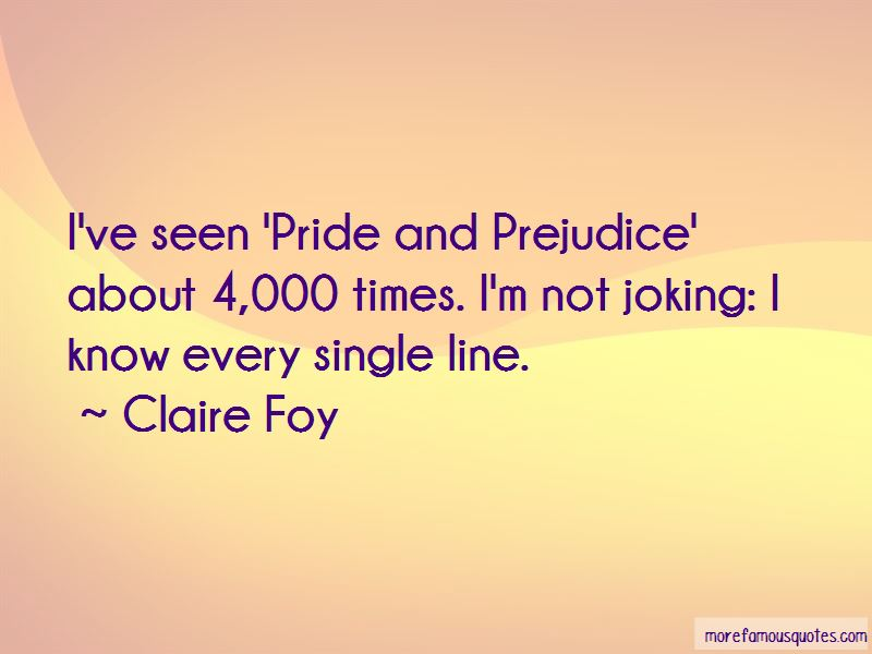 Claire Foy Quotes
