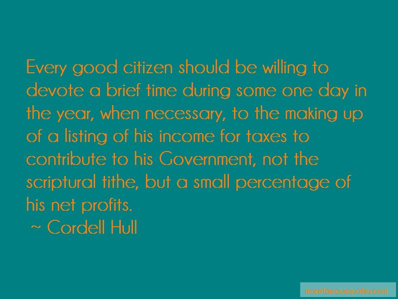 Cordell Hull Quotes