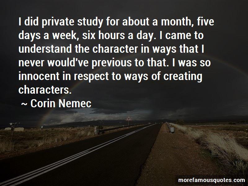 Corin Nemec Quotes Pictures 2