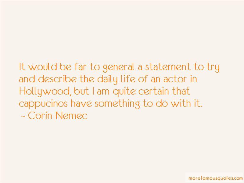 Corin Nemec Quotes Pictures 3