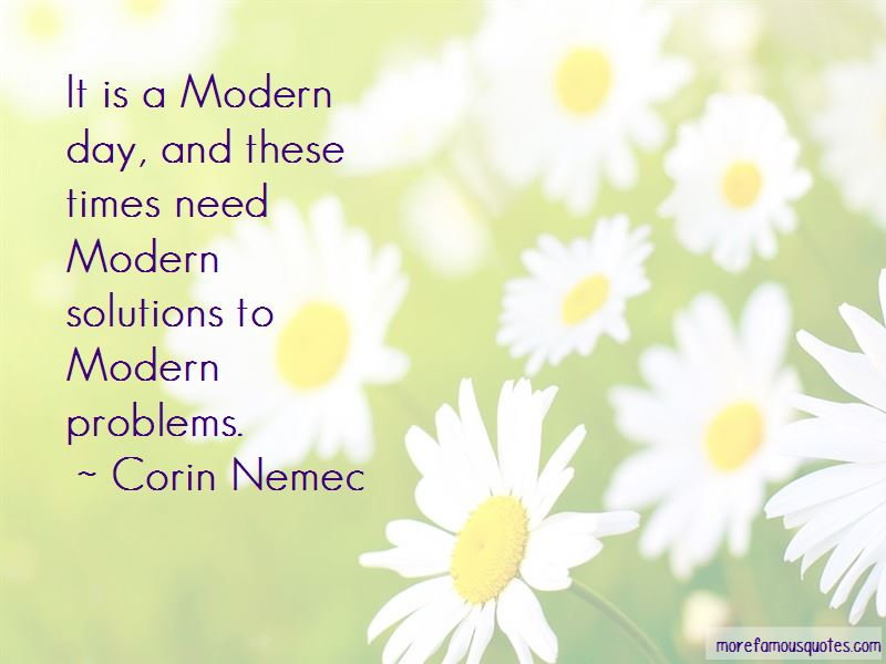 Corin Nemec Quotes