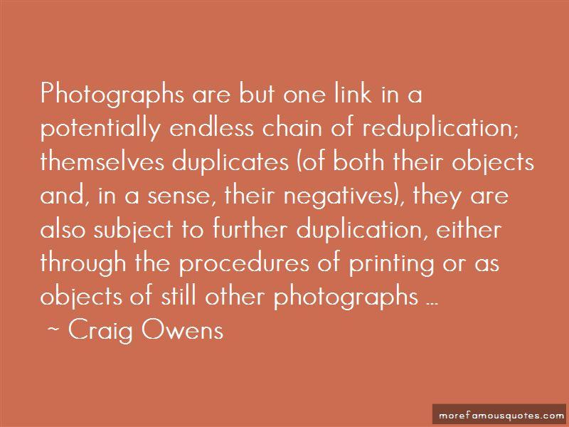 Craig Owens Quotes