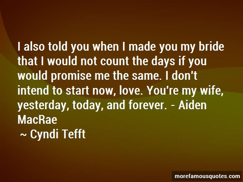Cyndi Tefft Quotes Pictures 3