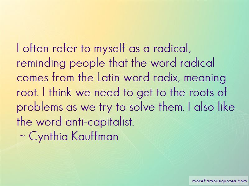 Cynthia Kauffman Quotes Pictures 3
