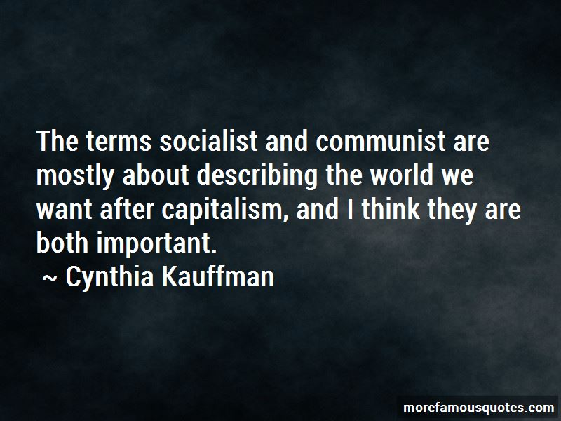 Cynthia Kauffman Quotes Pictures 4