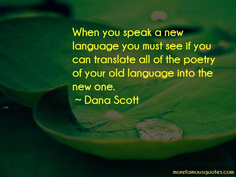 Dana Scott Quotes