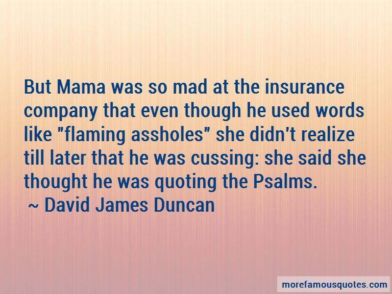 David James Duncan Quotes Pictures 2