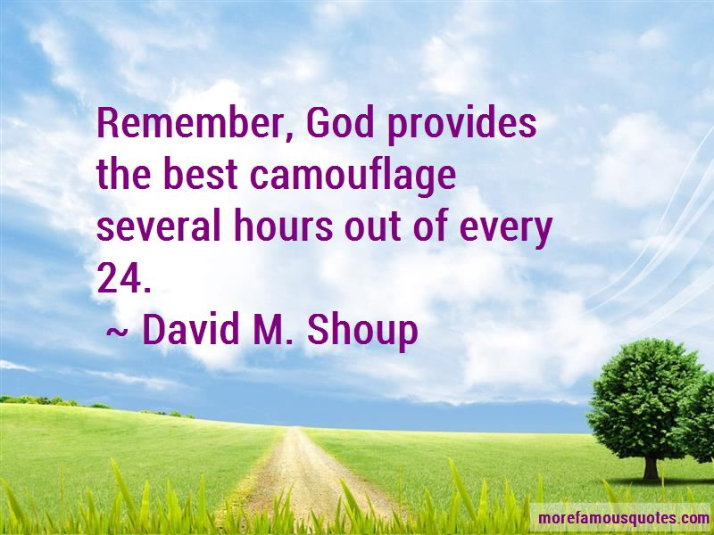 David M. Shoup Quotes Pictures 3