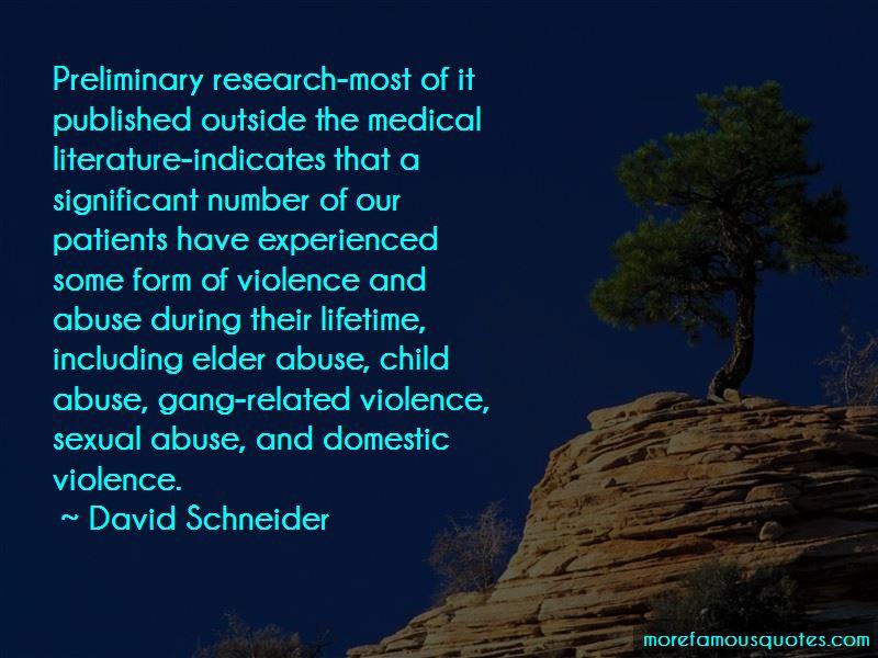 David Schneider Quotes