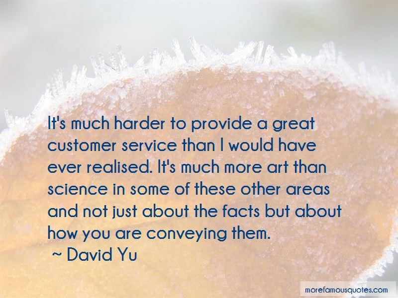 David Yu Quotes