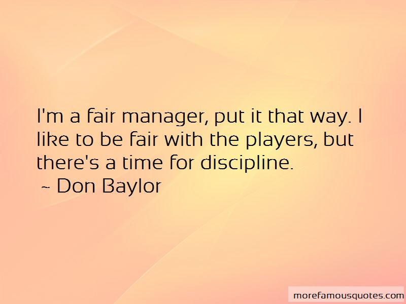 Don Baylor Quotes Pictures 2