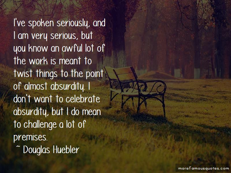 Douglas Huebler Quotes Pictures 2