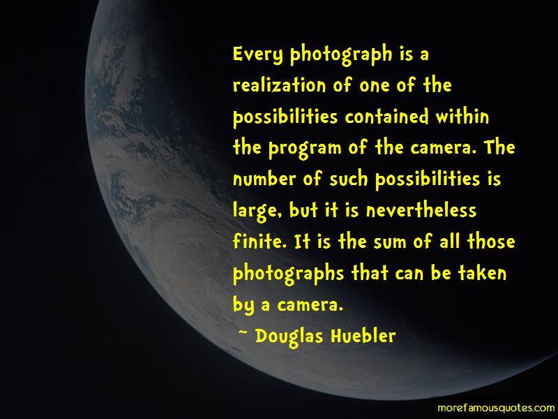 Douglas Huebler Quotes Pictures 4