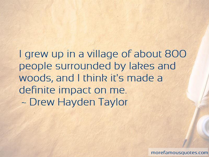 Drew Hayden Taylor Quotes Pictures 2