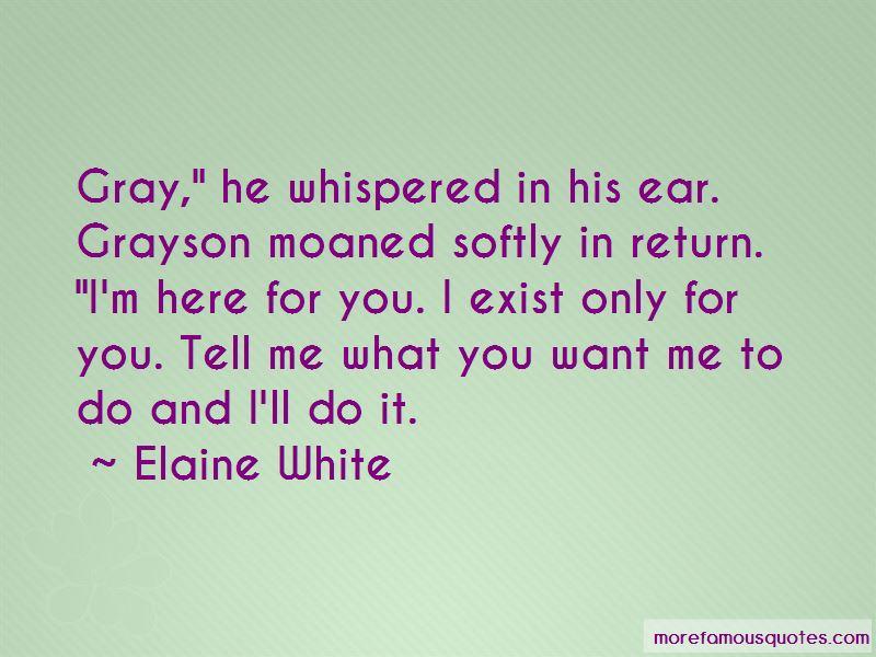 Elaine White Quotes Pictures 3