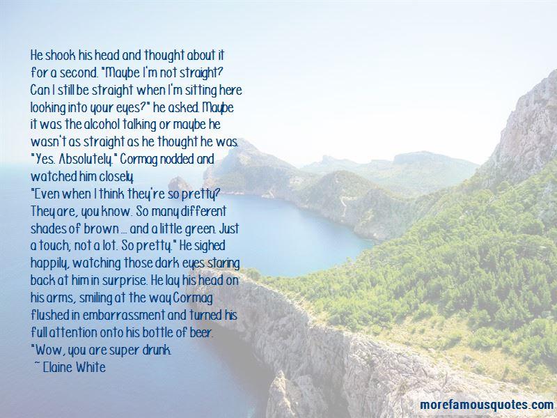 Elaine White Quotes