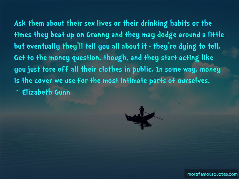 Elizabeth Gunn Quotes
