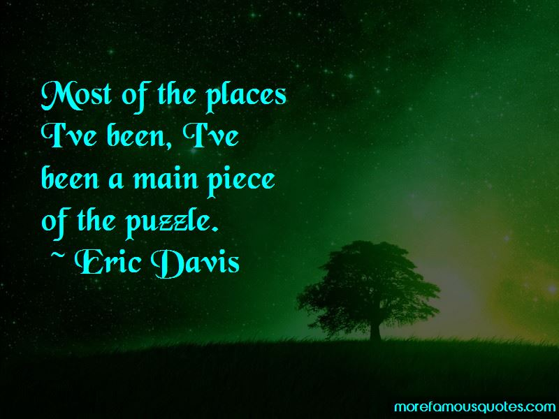 Eric Davis Quotes Pictures 2