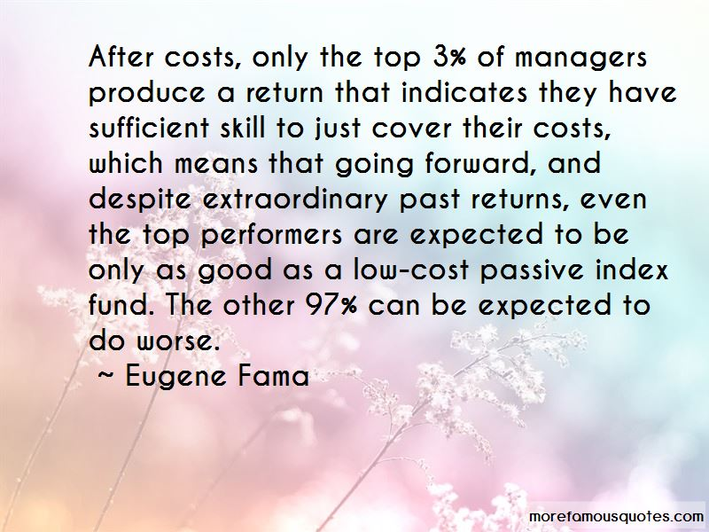 Eugene Fama Quotes Pictures 2