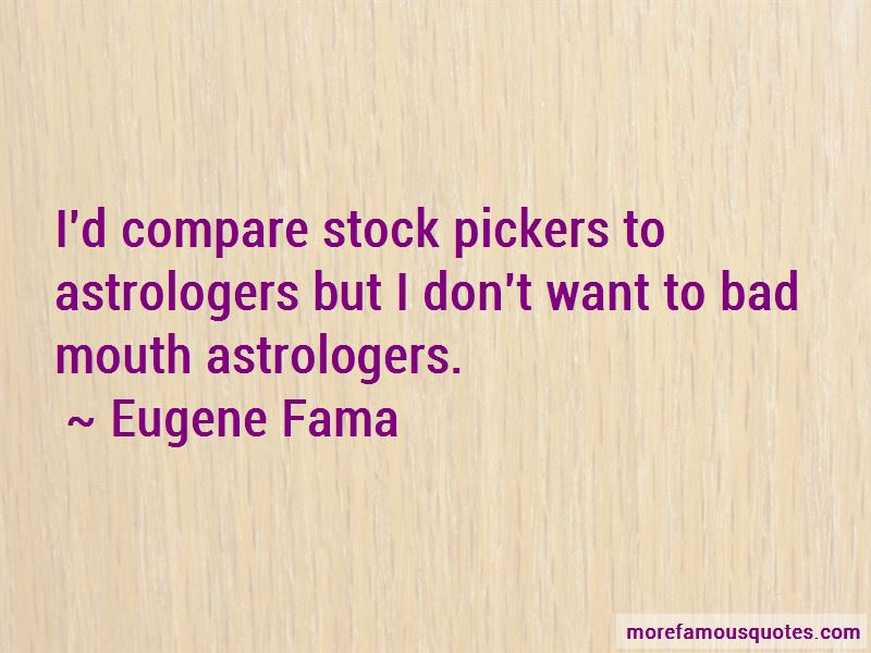 Eugene Fama Quotes Pictures 3