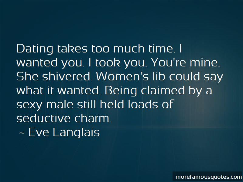 Eve Langlais Quotes