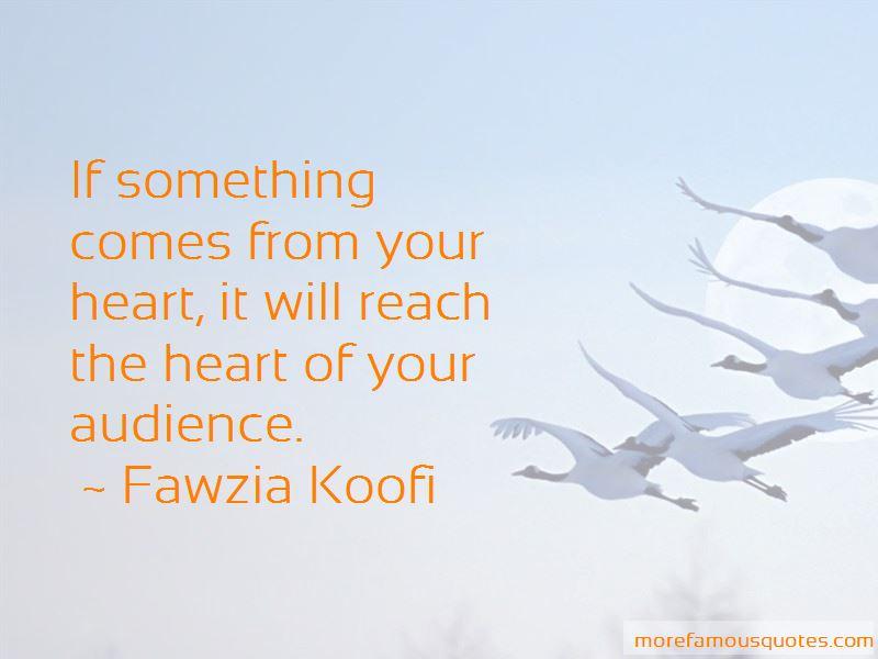 Fawzia Koofi Quotes Pictures 3