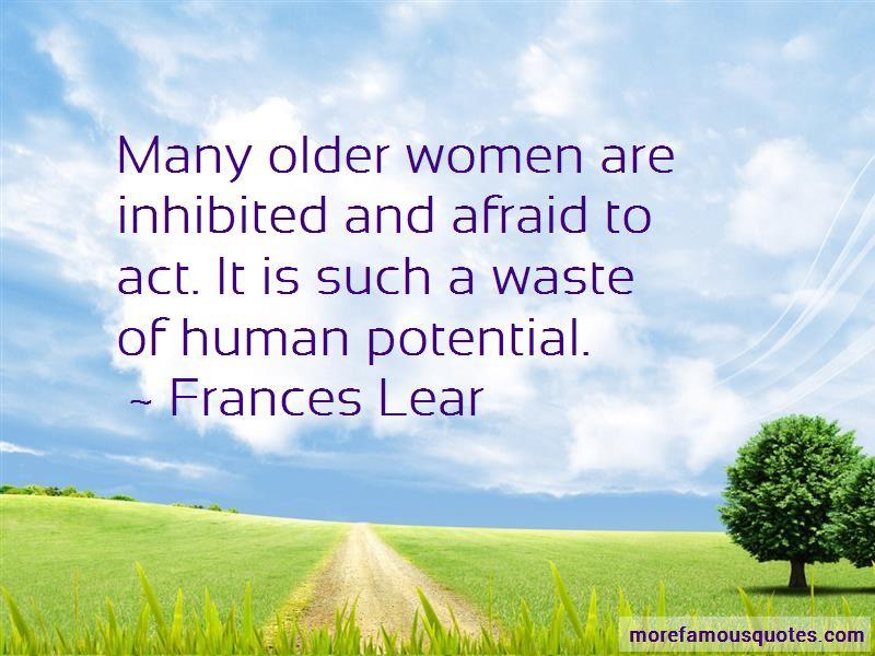 Frances Lear Quotes Pictures 2