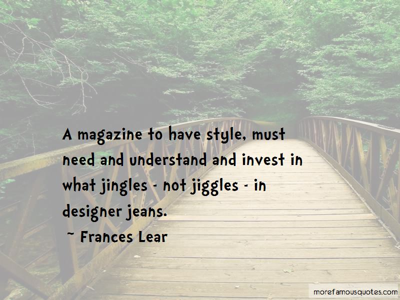 Frances Lear Quotes Pictures 4