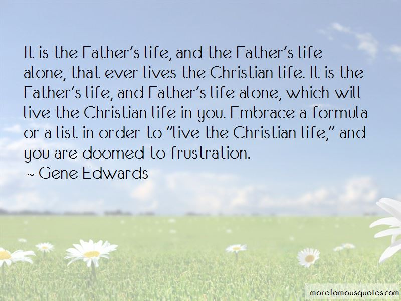 Gene Edwards Quotes Pictures 2